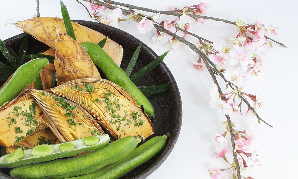 日本料理「有馬」春イメージ